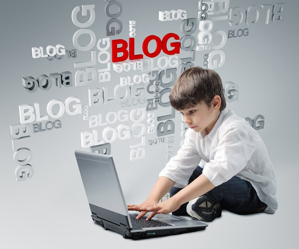 children blogging