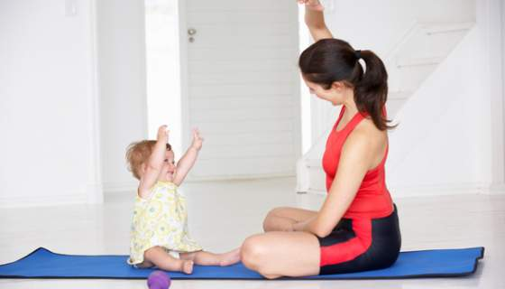 Post Baby Fitness the Healthy Way
