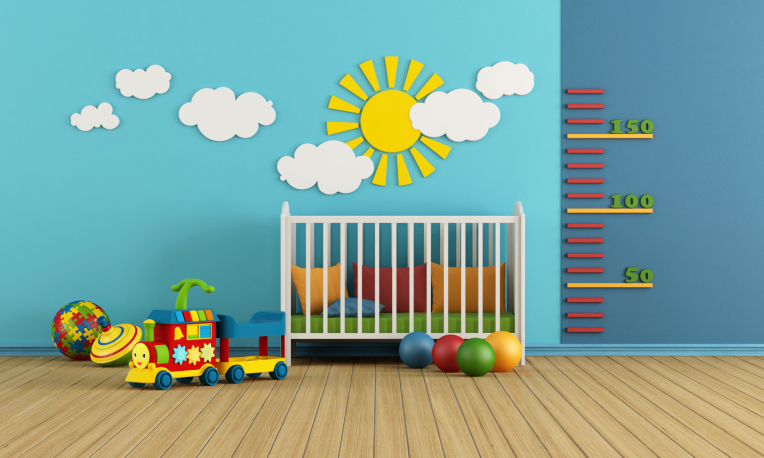 themed baby room