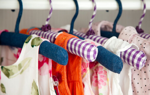 What to do with outgrown clothes