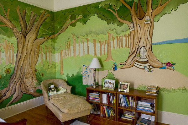 Painting-Kids-Wall-Murals