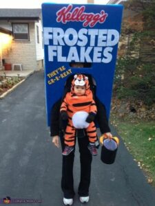 Frosty The Tiger