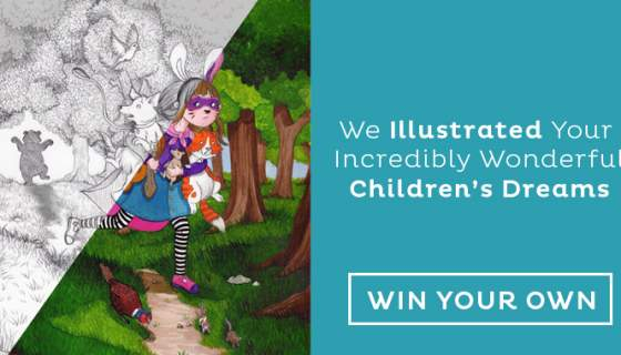 We Illustrate The Dreams Of Children – Win Your Own