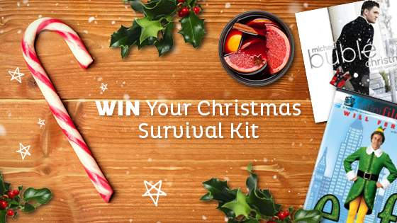 WIN Your Christmas Survival Kit