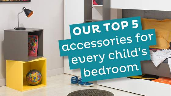 Top 5 Accessories for Child's Room
