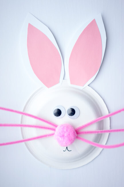 Paper Plate Bunny