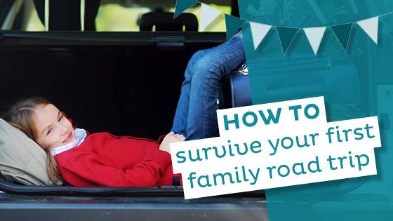 How to Survive Your First Family Road Trip