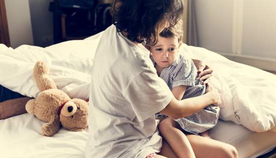 How to Deal with Your Child's Night Terrors