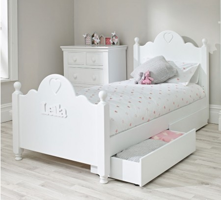 Low Bed with Storage