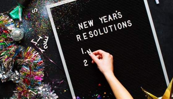 5 Most common New-Year's Resolutions