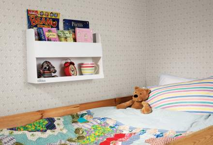 Bunk Bed Buddy - White