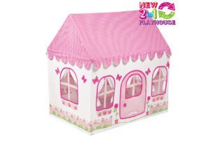 Rose cottage and Tea Shop 2 in 1 Play House (Small)
