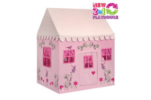 Enchanted Garden and Fairy Woodland 2 in 1 Playhouse (Large)