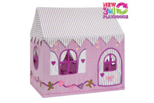 2 in 1 Gingerbread Cottage and Sweet Shop Playhouse (Small)