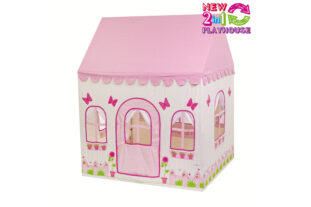 Rose cottage and Tea Shop 2 in 1 Playhouse (Large)