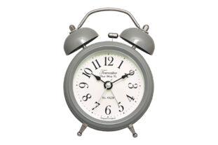 Pembridge Double Bell Alarm Clock