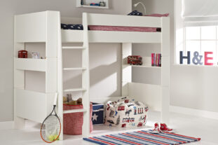 Solitaire White High Sleeper
