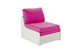 Stompa UNO S Single Chair Sofa Bed - Pink