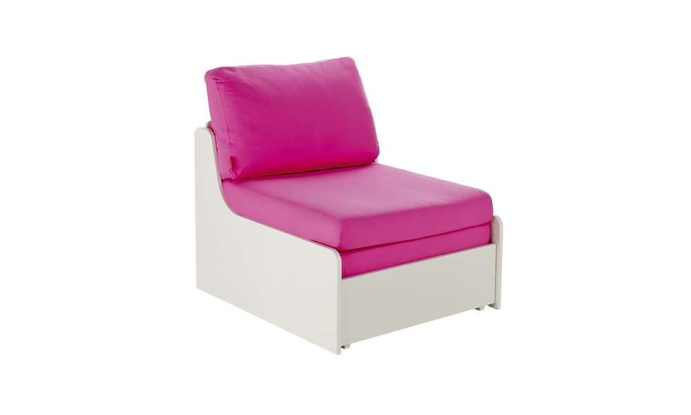 Chair bed pink