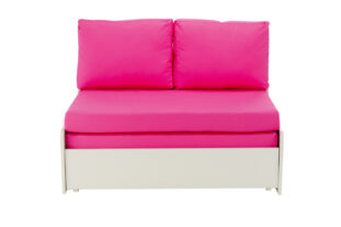 Stompa UNO S Double Chair Sofa Bed - Pink