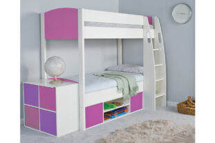 Stompa UNO S Detachable Storage Bunk Bed (girl)