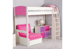Stompa UNO S 10 Highsleeper with Chair Bed & Cube