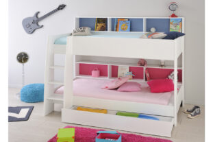 Tam Tam 2 White Bunk Bed