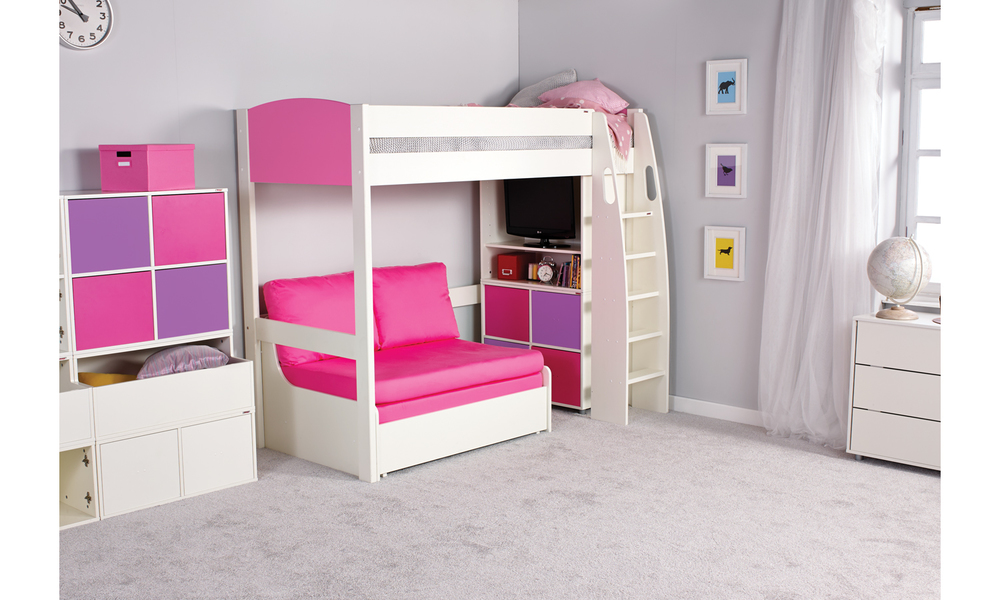 Stompa Uno S 11 Highsleeper With Double Sofa Bed Room To