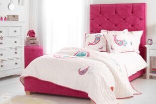 Sleeping Beauty Upholstered Bed