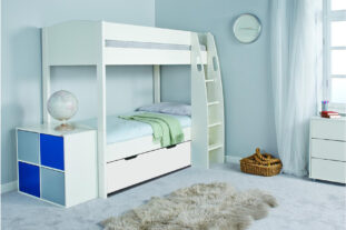 Stompa UNO S Detachable Bunk Bed with Underbed Drawer