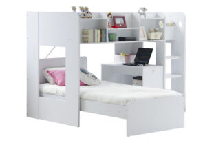 Wizard Junior L-Shaped Bunk Bed
