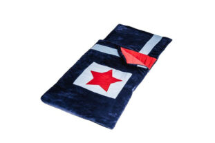 Navy Star Toddler Snuggle Sac