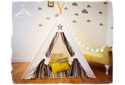 Cosmo Teepee, Play Mat & Bunting Set
