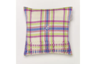 Candy Menzies Check Baby Cushion