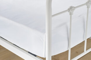 Luxury 100% Cotton Large Single Fitted Sheet 90x200cm