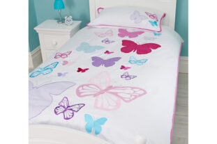 Butterfly - Flutterby Single Duvet Set