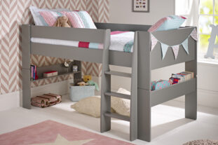 Solitaire Cool Grey Mid sleeper