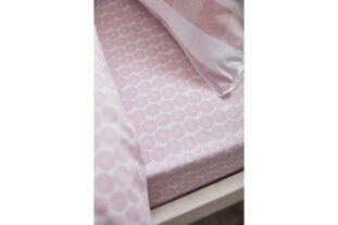 Ditsy Pink Single Fitted Sheet (90x190cm)