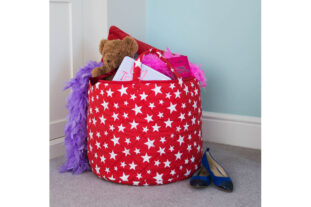 Red Star Toy Basket