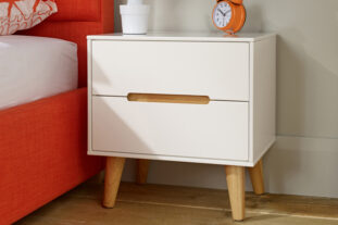 Bodo 2 Drawer Bedside