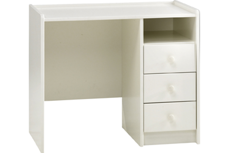 Solitaire White Single Bed Chest Amp Desk Room To Grow