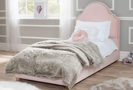Bella Single Upholstered Bed