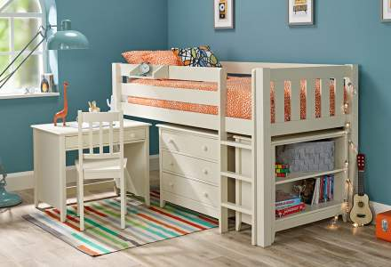 Jubilee Midsleeper Combination - Ivory White