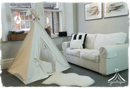 Classic Cream Teepee with Play Mat