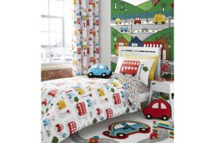 Transport Single Duvet Set