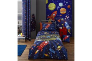 Outer Space Single Duvet Set