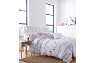 Marble Single Duvet Set