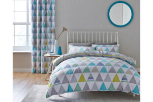 Scandi Geo Double Duvet Set