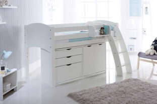 Scallywag Cabin Bed with Chest and Cupboard