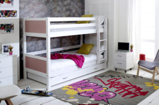 Nordic Bunk Bed 1 with Trundle Drawer